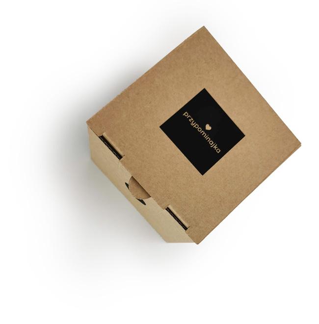 Pudełko ze świecą - Przypominajka