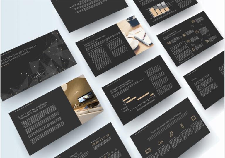 Portfolio: Dylewski - System Identyfikacji Wizualnej, Internet Multimedia