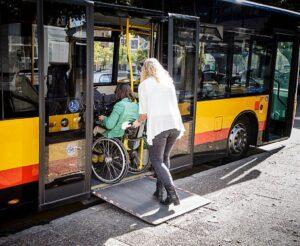 Transport zbiorowy osób z niepełnosprawnościami